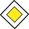 Semn circulaţie - Drum cu prioritate